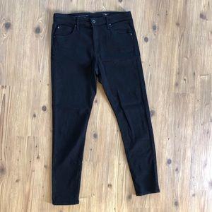 AG Jeans The Farrah Skinny Ankle Black